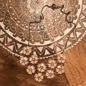 Francesca's super pretty floral statement necklace
